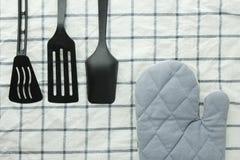 нож кухни вилки оборудования Стоковая Фотография RF