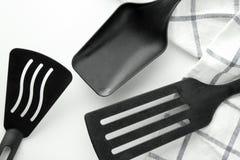 нож кухни вилки оборудования Стоковые Изображения