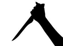 нож руки Стоковая Фотография