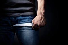 нож руки Стоковые Фотографии RF