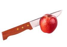 нож яблока Стоковое фото RF