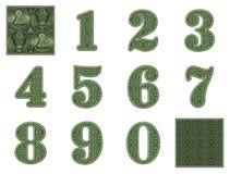 Номера денег Стоковые Фото