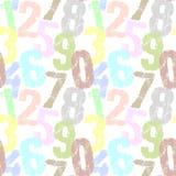 номера иллюстрации предпосылки 3d представили Стоковые Изображения RF