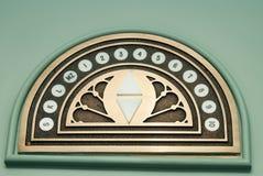 номера лифта Стоковая Фотография RF