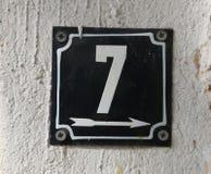 Номера дома Стоковое Фото