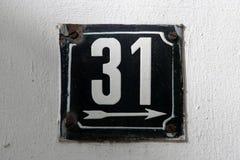 Номера дома Стоковое Изображение RF
