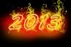 2013 номера пожара Стоковое Фото