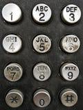 Номера телефона Стоковая Фотография RF