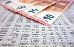 Номера фондовой биржи Стоковая Фотография RF
