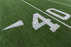 Номера футбола Стоковое фото RF