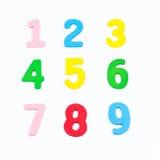 Номера цвета Стоковая Фотография