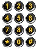 Номера шкалы Стоковые Фото