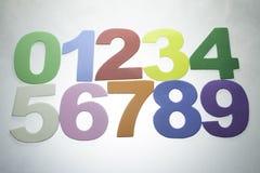 номера стоковое изображение rf