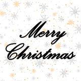 2019 номеров с силуэтом свиньи для рождественской открытки Нового Года и, плаката, знамени Каллиграфия руки вычерченная, вектор бесплатная иллюстрация