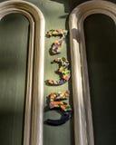 Номер 735 дверей Стоковая Фотография RF