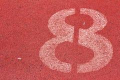 Номер используемый для спортсменов Стоковые Фото