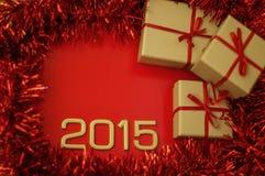 Номер концепций года 2015 Стоковые Изображения