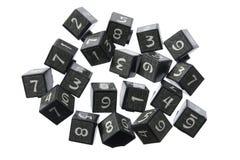 номер кубиков стоковое фото rf