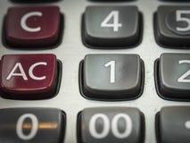 Номер на калькуляторе Стоковое Изображение RF