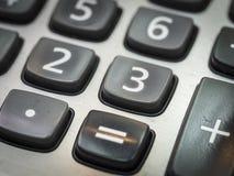 Номер на калькуляторе Стоковые Изображения RF