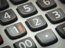 Номер на калькуляторе Стоковая Фотография