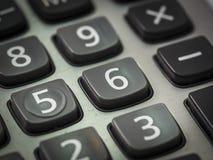 Номер на калькуляторе Стоковые Фото