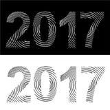 Номер Нового Года Стоковые Фото