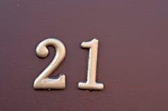 Номер дома стоковая фотография rf