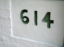 Номер дома, 614 стоковые изображения