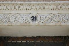 Номер дома Стоковые Фотографии RF
