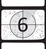 номер пленки 6 комплексов предпусковых операций Стоковое Изображение RF