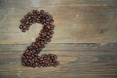 номер два кофе Стоковые Фото