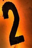 номер 2 Стоковые Фотографии RF