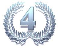 номер 4 Стоковое Изображение RF