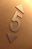 номер 5 Стоковое Фото