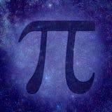 Номер Pi стоковая фотография