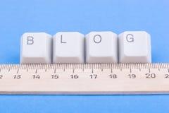 номинальность измерения блога стоковая фотография rf