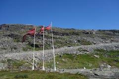 Норвегия - ландшафт горы Стоковые Фотографии RF