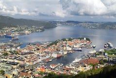 Норвегия, Берген стоковое изображение rf