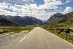 Норвегия Скандинавия Путешествия Дорога Trollstigen Стоковые Фотографии RF