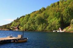 Норвегия - Sogne стоковое фото