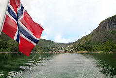 Норвегия, Sognefjord Стоковое Изображение RF