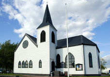 норвежец церков стоковое изображение
