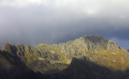 Норвежская гора Ридж Стоковая Фотография RF
