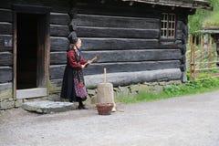 Норвежская женщина Стоковое Фото