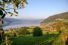 Норвежская сельская местность Стоковая Фотография
