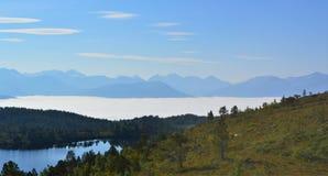 Норвежская сельская местность Стоковые Фото