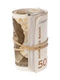 Норвежские деньги Стоковое фото RF
