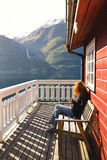 Норвежский ландшафт Стоковая Фотография RF
