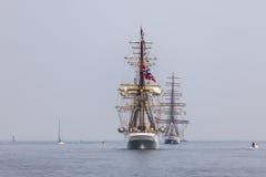 Норвежский высокорослый корабль Стоковые Фотографии RF